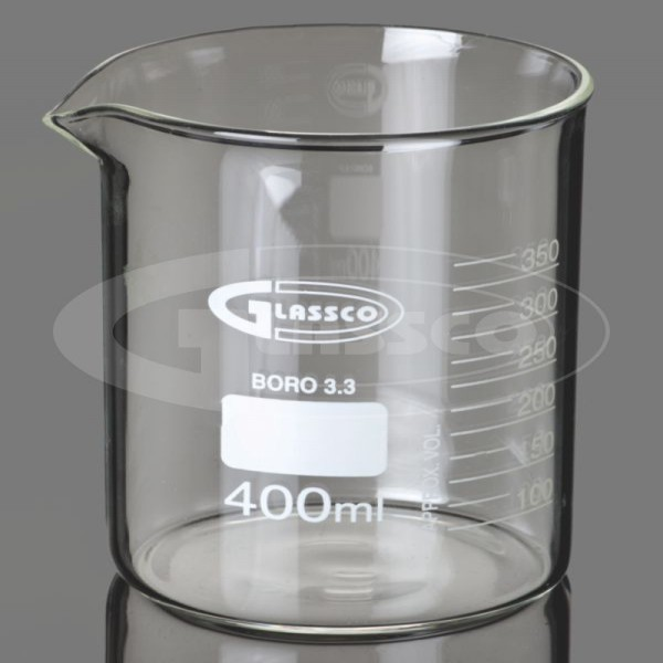 Beaker, Low form with spout