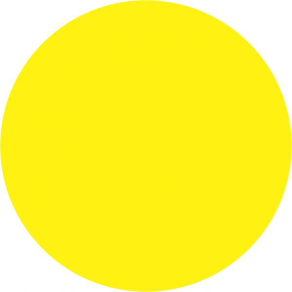 kayoCheck Gamma Circular Chemical Process Indicator (Plain) Yellow to Red